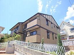 兵庫県宝塚市寿楽荘の賃貸アパートの外観