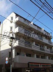 東京都渋谷区西原3丁目の賃貸マンションの外観