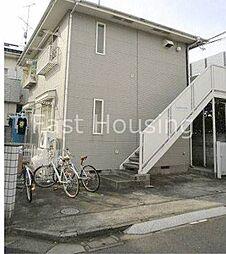 東京都中野区上鷺宮5丁目の賃貸アパートの外観