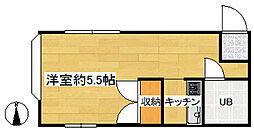 コスモスハイツ[1階]の間取り