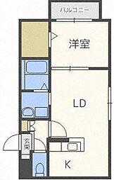 北海道札幌市北区北三十条西3丁目の賃貸マンションの間取り