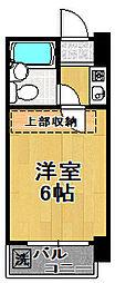 セレストパレ[10階]の間取り