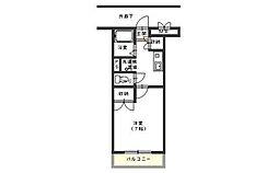 広島県呉市広古新開4丁目の賃貸マンションの間取り