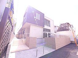 岡山県岡山市北区津島南1丁目の賃貸マンションの外観