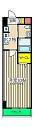 SOLARE横浜[4階]の間取り
