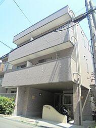 大阪府大阪市東住吉区針中野3丁目の賃貸マンションの外観