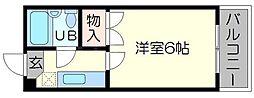 ローレルハイツ富士富[4階]の間取り