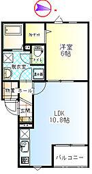 太陽ホーム[2階]の間取り