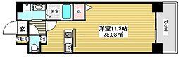 レオンコンフォート神戸西[10階]の間取り