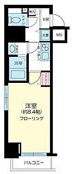 東京都港区西麻布1丁目の賃貸マンションの間取り