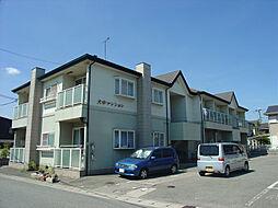 兵庫県加古郡播磨町大中2丁目の賃貸アパートの外観
