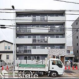 愛知県名古屋市中川区八熊通6丁目の賃貸アパートの外観