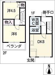 R・ハウス仏生寺[2階]の間取り