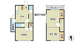[一戸建] 兵庫県姫路市西今宿3丁目 の賃貸【/】の間取り