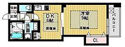 ライフ佃[2階]の間取り