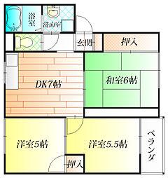 コートファミーユ[3階]の間取り