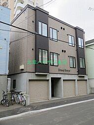 北海道札幌市東区北十五条東8丁目の賃貸アパートの外観