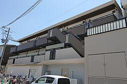 大阪府豊中市本町9丁目の賃貸アパートの外観