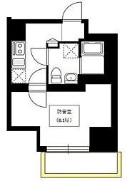 ベルカント浅草蔵前[12階]の間取り