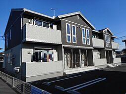 埼玉県熊谷市久下の賃貸アパートの外観