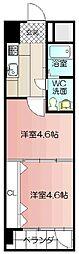 PROJECT2100小倉駅[406号室]の間取り