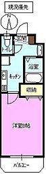 長野県長野市篠ノ井御幣川の賃貸マンションの間取り