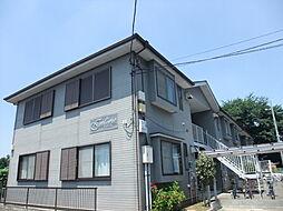 東京都練馬区大泉町の賃貸アパートの外観