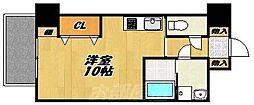 コートハウス中島通り[6階]の間取り
