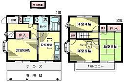 [テラスハウス] 東京都杉並区今川1丁目 の賃貸【/】の間取り