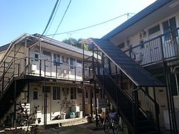 竹内ハイツII[101号室]の外観