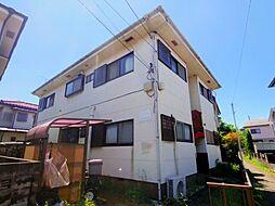 東京都東大和市狭山4丁目の賃貸アパートの外観
