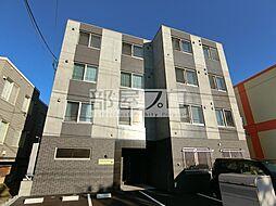 北海道札幌市北区北三十五条西2丁目の賃貸マンションの外観