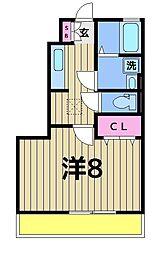カインドコープIII[1階]の間取り