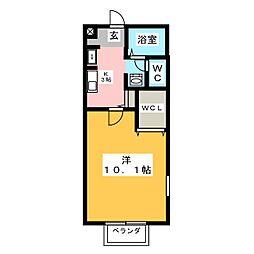 ベストームi[1階]の間取り