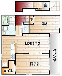 メゾンあおばI[2階]の間取り