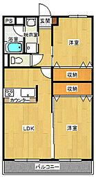 ファーストアベニュー[4階]の間取り