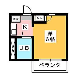 いづみ22[2階]の間取り