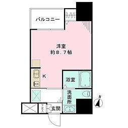 ラヴィーナ横浜[8階]の間取り