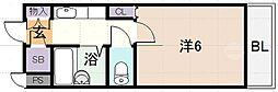 マンションタカトミ[2階]の間取り