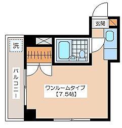 小野崎ビル[301号室]の間取り