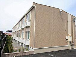 愛知県あま市七宝町秋竹壱町田の賃貸アパートの外観