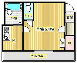 A&Aマンション[2階]の間取り