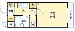 マンションタカトミ[306号室]の間取り