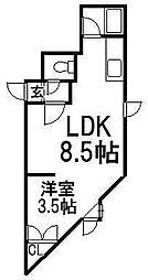 キラメック30th[2階]の間取り