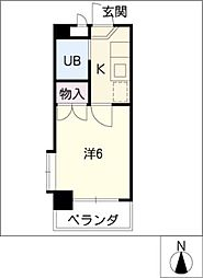 ピア モトマチ[2階]の間取り