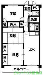 アマ・デトワールII[3階]の間取り