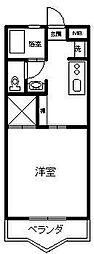 コーポトミタカ[105号室]の間取り