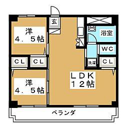 CASA442[1階]の間取り