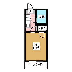 メゾンド・ソフィア[1階]の間取り
