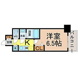 プレサンス丸の内レジデンス3[8階]の間取り